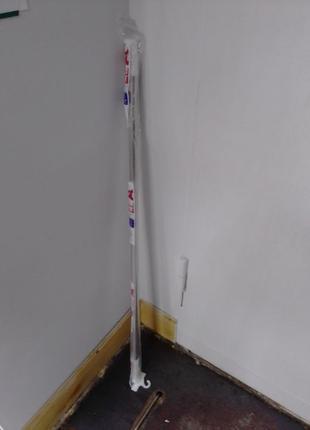 Карниз телескопический для ванной комнаты душа в ванну душ хром