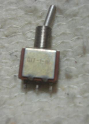 Микро  тумблер П1Т - 1 - 1В  новые