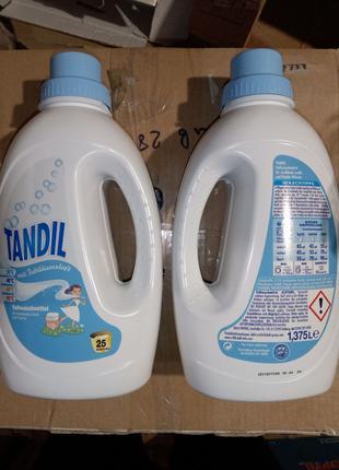 Tandil .1.375л, 25стирок, универсал, гель для стирки