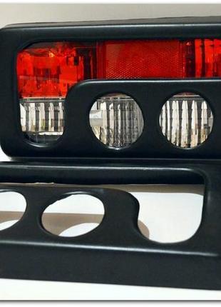 фонари 2107 задние с накладкой