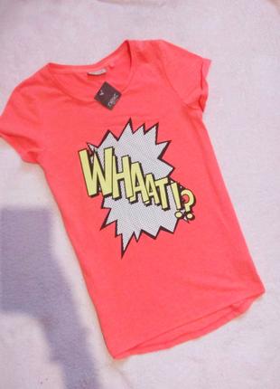 Мегастилная футболка оверсайз с надписью,  next