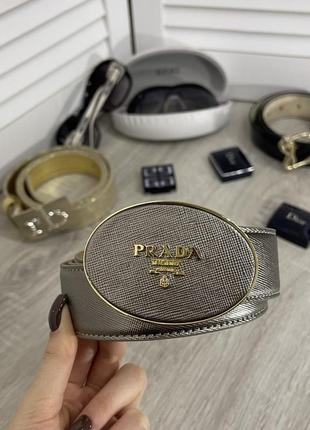 Prada прада пояс ремень оригинал ретро винтаж italy италия серый