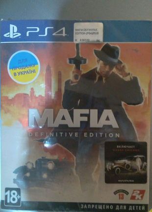 Игра Mafia Definitive Edition русская версия