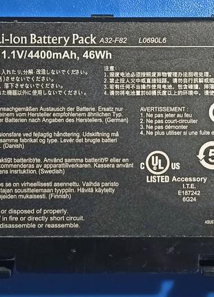 Аккумуляторная батарея ASUS A32-F82, A32-F52, L0690L6, L0A2016