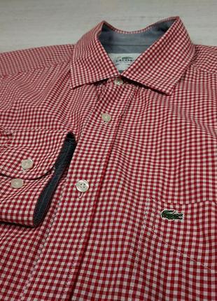 Рубашка lacoste xl