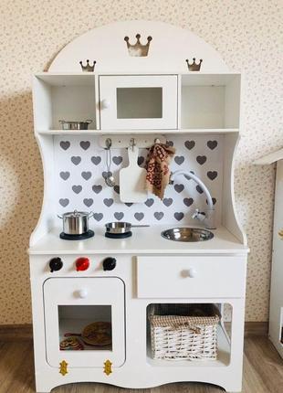 Кухня детская, кухня для девочки, игровая кухня
