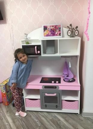 Детская кухня, кухня для девочки, игровая кухня