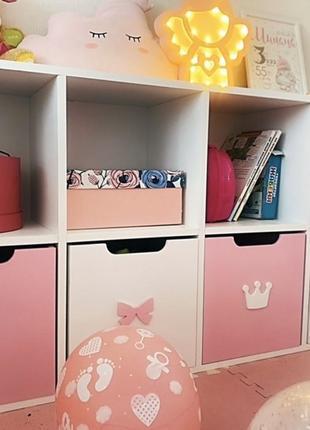 Стеллаж для игрушек, детский стеллаж, хранение игрушек