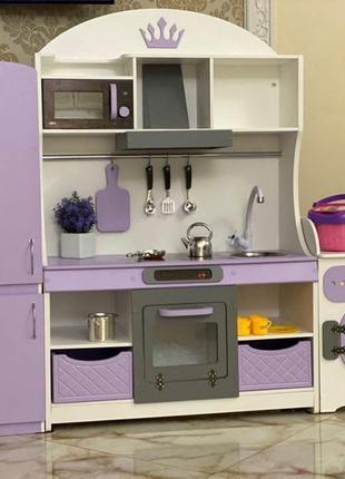 Детская кухня, игровая кухня, кухня для девочки