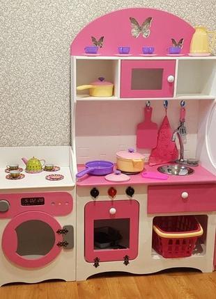 Кухня для девочки, детская кухня, игровая кухня
