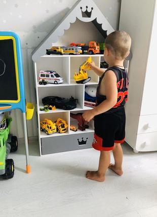 Домик для кукол LOL, детский стеллаж