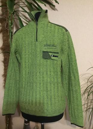 🔥 отличный🔥 мужской свитер джемпер реглан кофта на молнии