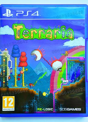 TERRARIA PS4 playstation 4 диск