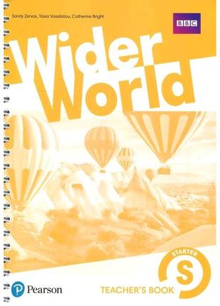 Wider world S,1,2,3,4 Teacher's book (ответы, гдз) PDF в эл. виде