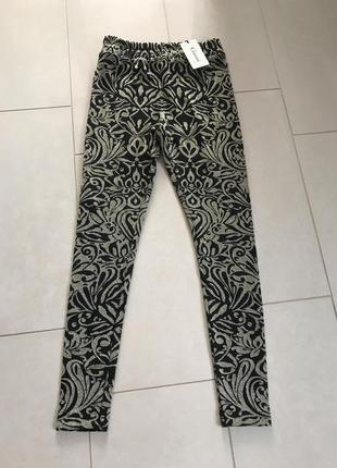 Штаны зауженные плотные стильные ganni размер s