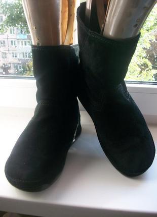 Сапоги, полусапожки , ботинки женские натуральная замша fitflo...