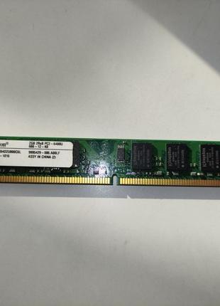 Модуль оперативной памяти DDR 2 Kingston, 2 GB/ 800 DIMM