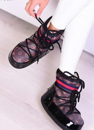 Луноходы женские зимние ботинки уггт