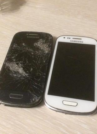 Телефоны Samsung Galaxy S III mini GT-I8190 на запчасти 2шт