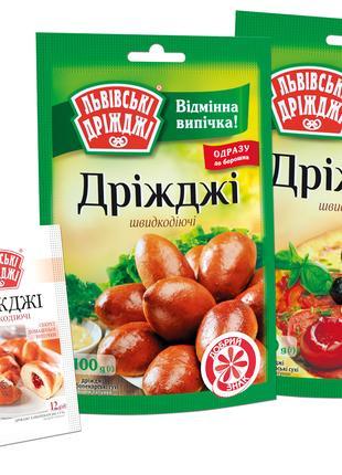 Дріжджі сухі хлібопекарські 100-0.012 г.