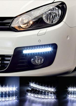 Дневные ходовые огни дневного света DRL 8 LED