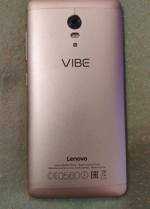 Б/у Lenovo Vibe p1 + подарок