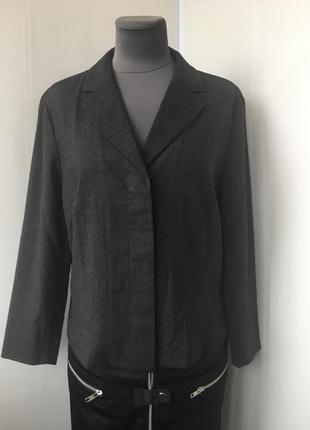 Стильный молочный кардиган укорочённый пиджак, zara