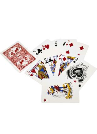 Карты игральные с пластиковым покрытием Duke N0988 54 листа 87x62
