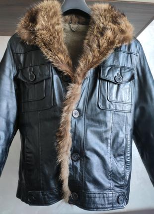 Зимняя куртка/дубленка из натурального меха (мужская)