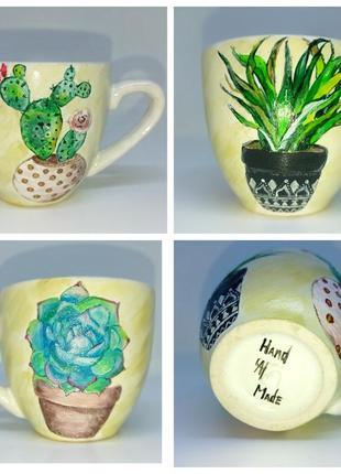 Чашка ручной работы, краствая чашка, кофейная чашка, чашка в п...