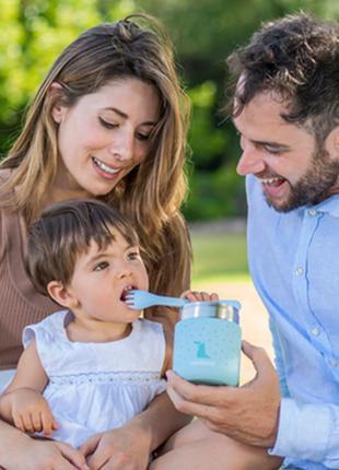 Детский термос для еды Miniland Silky Food на 280 мл