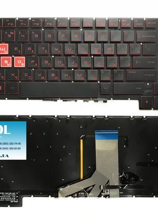 Оригинальная клавиатура для ноутбука HP Omen 17-an series, black