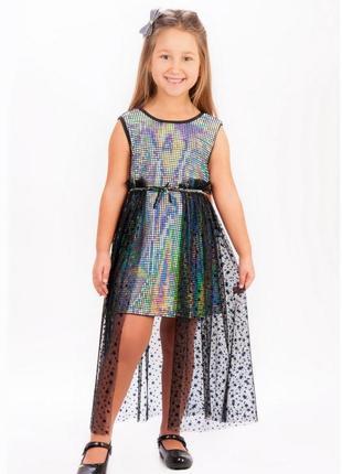Платье для девочек 3-12 лет