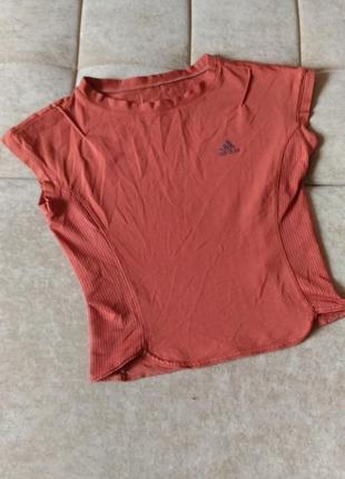 Спортивная футболка для фитнеса adidas climalite, р. 10/12
