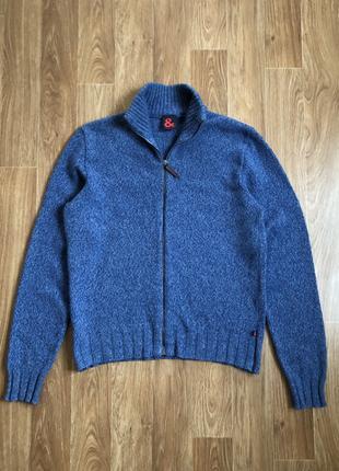 Dolce & Gabbana Lambs Wool Full Zip Мужской свитер пуловер