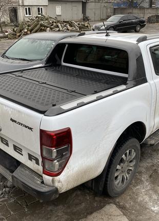 Силовая алюминиевая крышка кузова на пикап Ford Ranger Wildtrak.