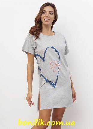 """Женская ночная сорочка из коллекции """"Love"""" (арт. 1091-1)"""