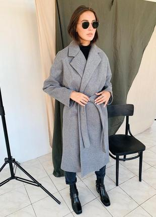 New демисезонное пальто кашемир/шерсть