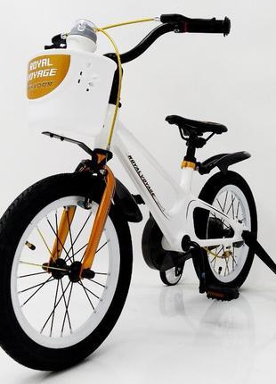 Детский Двухколесный Велосипед ROYAL VOYAGE 16-SHADOW Колеса 16