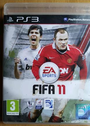 """Лицензионный диск Sony Playstation 3 PS3 """"FIFA 11"""""""