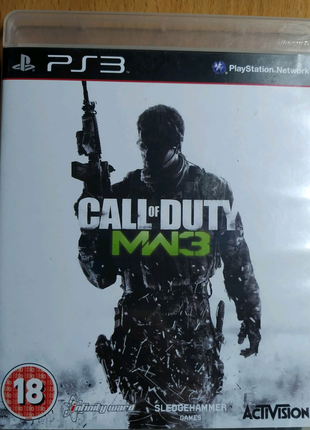 """Лицензионный диск Sony Playstation 3 PS3 """"Call of duty 3"""""""