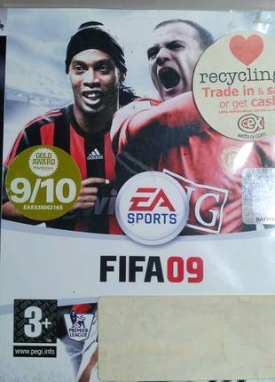 """Лицензионный диск Sony Playstation 3 PS3 """"FIFA 09"""""""