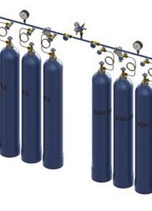 Рампа кислородная газовая балонная