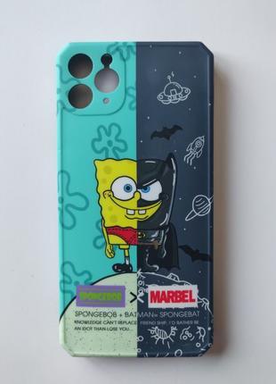 Чехол Spongebob Marvel для Iphone 11 Pro Max