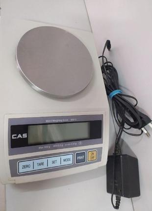 Весы электронные лабораторные CAS MW-II-300