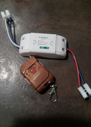 Радиочастотное рф реле 433МГц нормально открытые/закрытые и пульт
