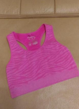 Майка workout для фитнеса, размер 10-12