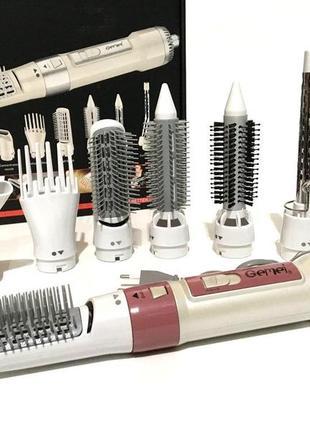 Воздушный стайлер для волос 7 в 1 gemei