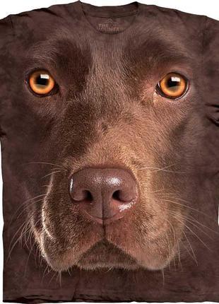 Американская мужская футболка с 3д рисунком собаки лабрадора t...
