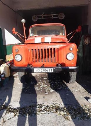 Пожарный автомобиль ГАЗ 53